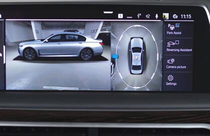 BMW Surround View Camera(Picture Source: bmwblog.com)