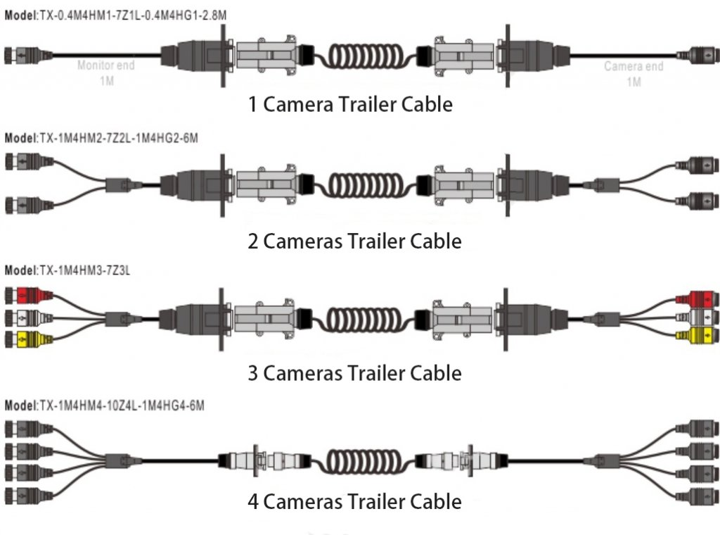 trailer connection cables