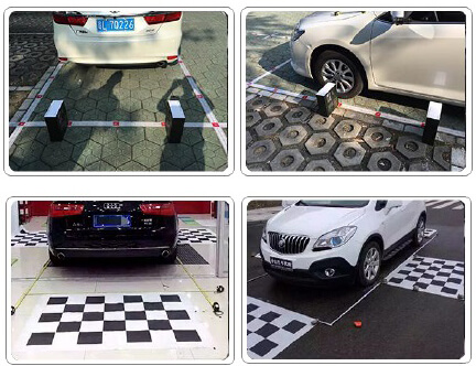 360 car camera calibration
