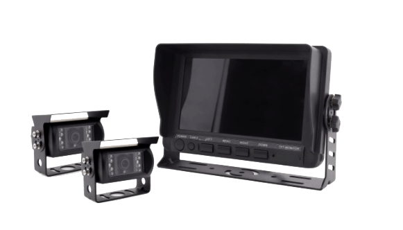 AHD backup camera system