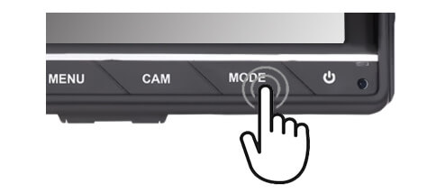 Vehicle Monitor touch button