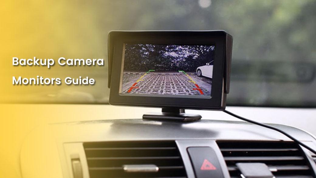 Backup camera monitors