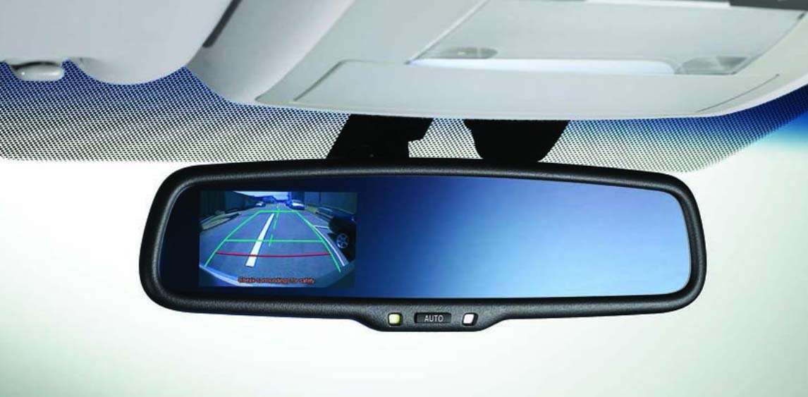Mirror Mounted Rear View Monitor