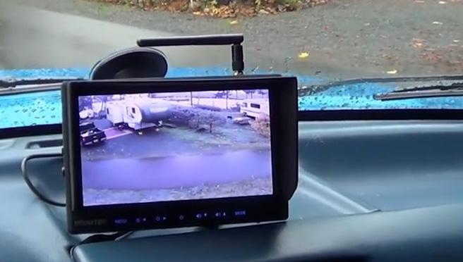 backup camera monitor image