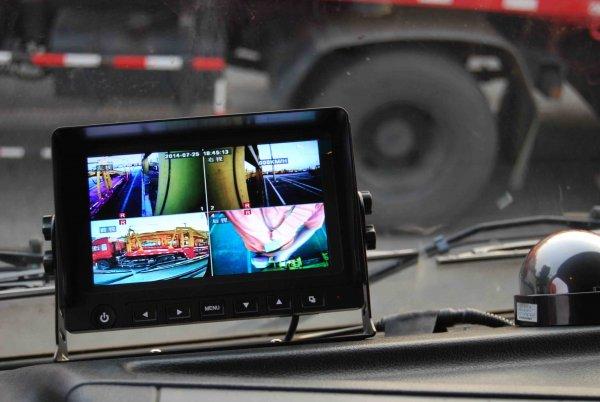 quad view backup camera monitor