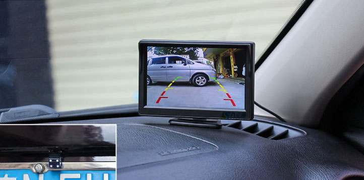 rear view camera display