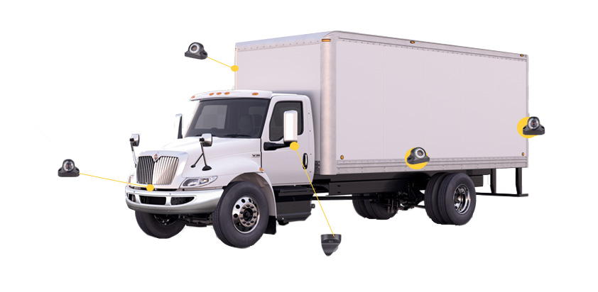 truck with car cameras