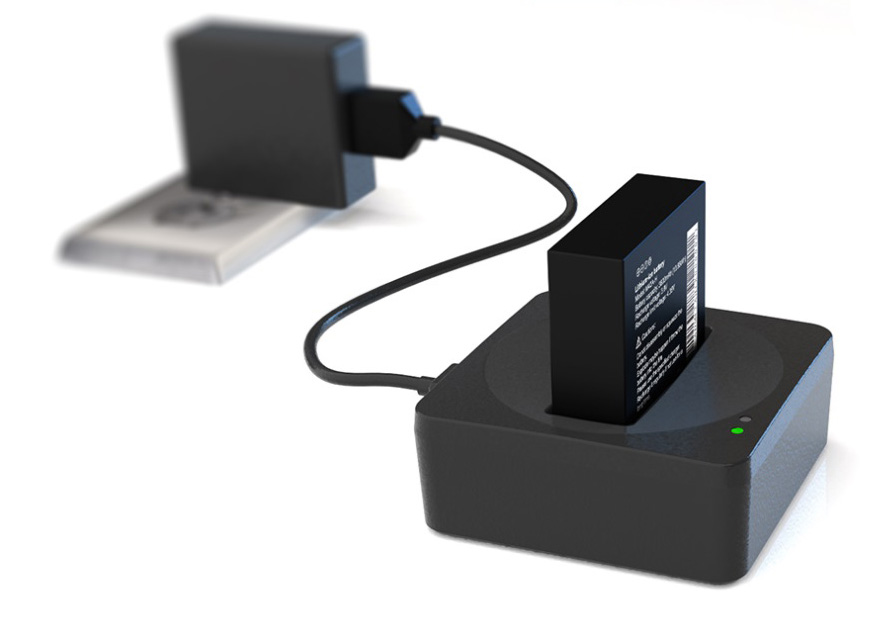 bodyworn camera battery